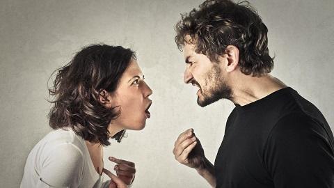 Streitendes Paar